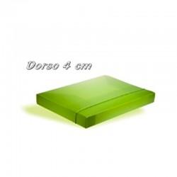 Cartellina Portaprogetti con elastico - dorso 4 cm