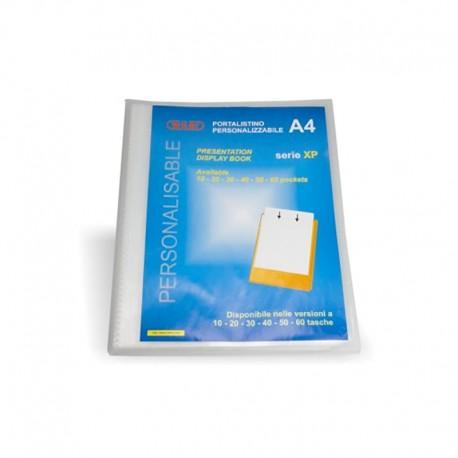 Portalistino A4 personalizzabile