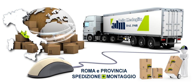 Roma e Provincia / Consegna + Montaggio